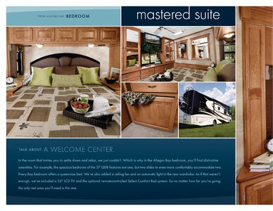 2009 Tiffin Allegro Bay Brochure page 8
