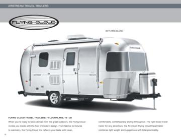 2010 Airstream Flying Cloud Brochure