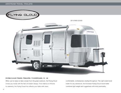 2010 Airstream Flying Cloud Brochure page 1