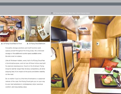 2010 Airstream Flying Cloud Brochure page 2