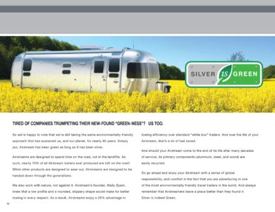 2010 Airstream Flying Cloud Brochure page 3