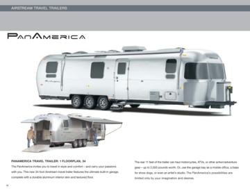 2010 Airstream Panamerica Brochure