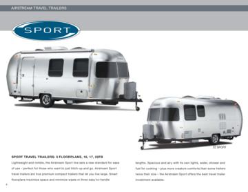 2010 Airstream Sport Brochure