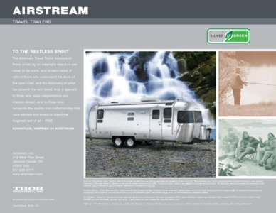 2010 Airstream Sport Brochure page 6