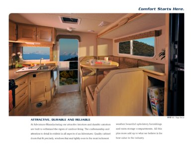2010 ALP Adventurer Truck Campers Brochure page 3