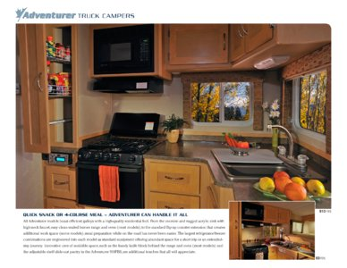 2010 ALP Adventurer Truck Campers Brochure page 6