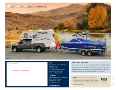 2010 ALP Adventurer Truck Campers Brochure page 16
