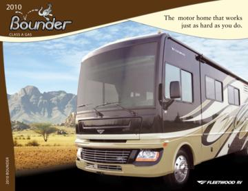 2010 Fleetwood Bounder Brochure