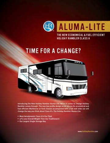 2010 Holiday Rambler Aluma Lite Brochure