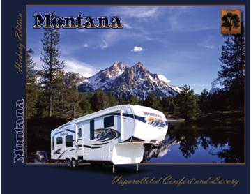 2010 Keystone RV Montana Hickory Edition Brochure