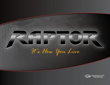 2010 Keystone RV Raptor Brochure