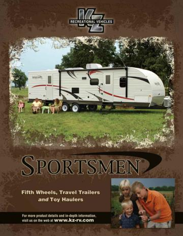 2010 KZ RV Sportsmen Brochure