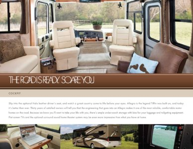 2010 Tiffin Allegro Brochure page 5