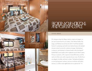 2010 Tiffin Allegro Brochure page 8