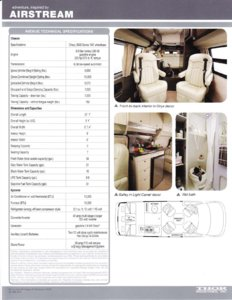 2011 Airstream Avenue Brochure page 2
