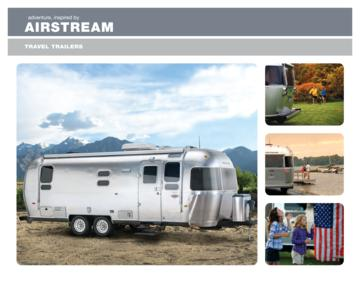 2011 Airstream Travel Trailers Brochure