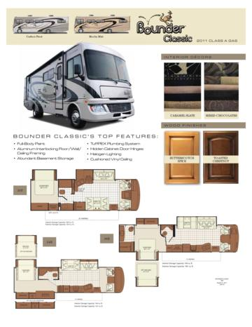 2011 Fleetwood Bounder Classic Brochure