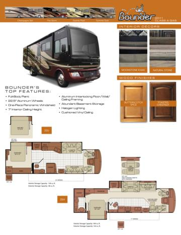 2011 Fleetwood Bounder Brochure