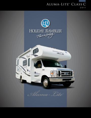 2011 Holiday Rambler Aluma Lite Brochure