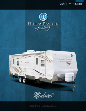 2011 Holiday Rambler Mintaro Brochure