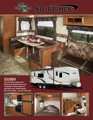 2011 KZ RV Sportsmen Brochure