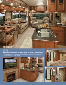 2011 KZ RV Stoneridge Brochure page 2