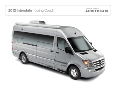 2012 Airstream Interstate 3500 Brochure page 1