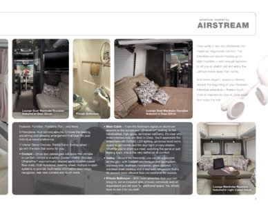 2012 Airstream Interstate 3500 Brochure page 5