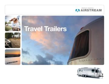 2012 Airstream Travel Trailers Brochure
