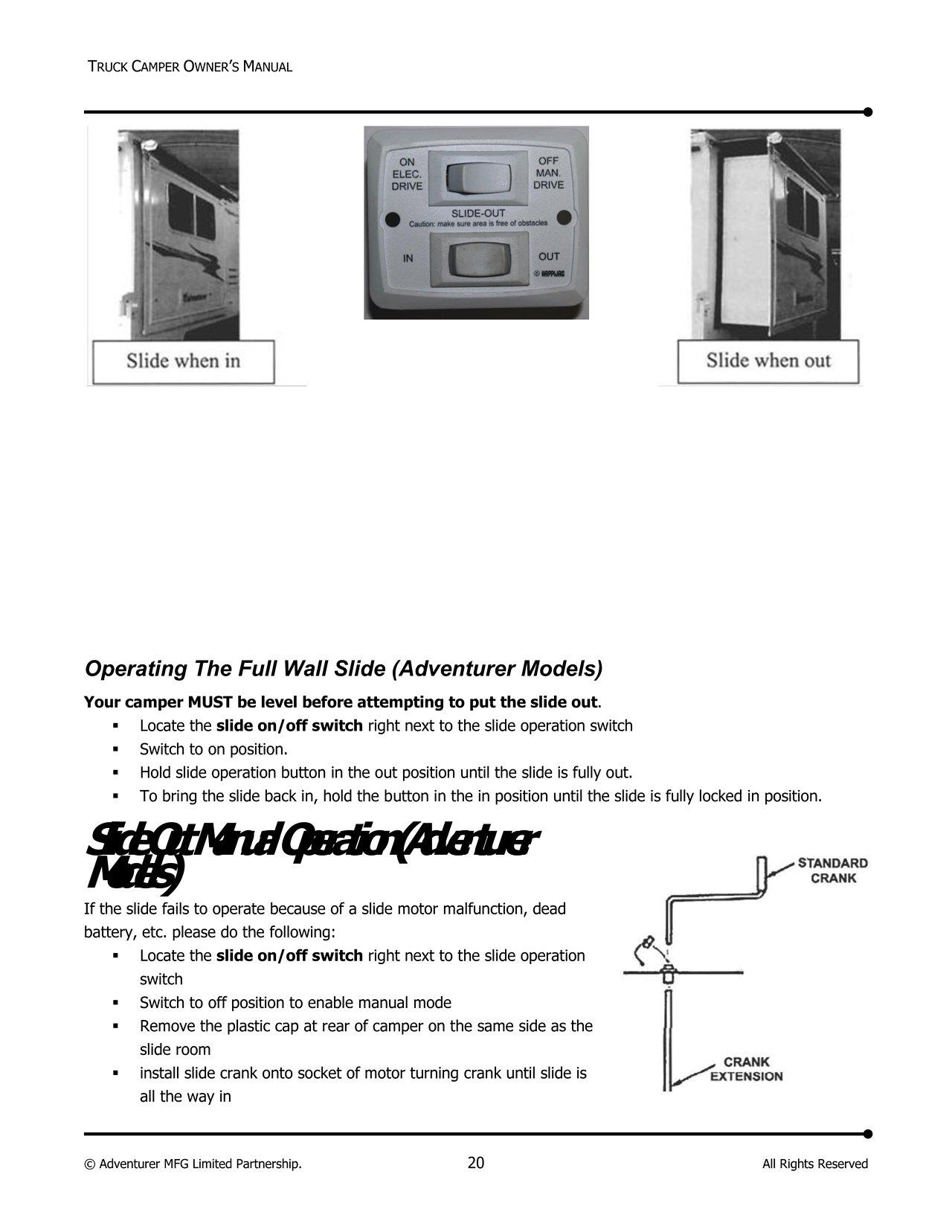 Camper Wiring Diagram Manual : Northstar truck camper wiring diagram repair