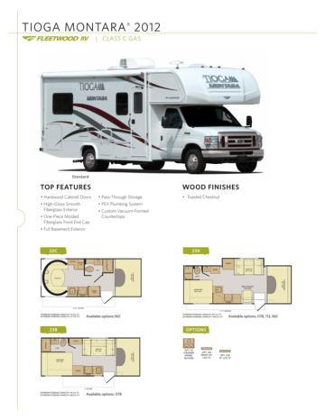 Fleetwood Rv Brochures Floorplans And Catalogs Download Rv Brochures
