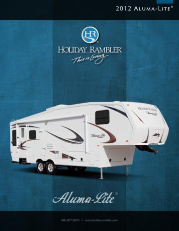 2012 Holiday Rambler Aluma Lite 5th Wheel Brochure