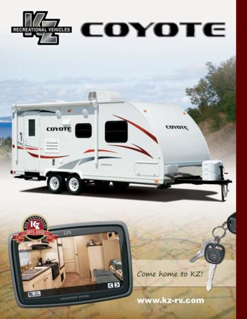 2012 KZ RV Coyote Brochure