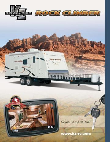 2012 KZ RV Rock Climber Brochure
