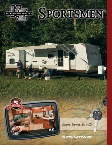 2012 KZ RV Sportsmen Brochure