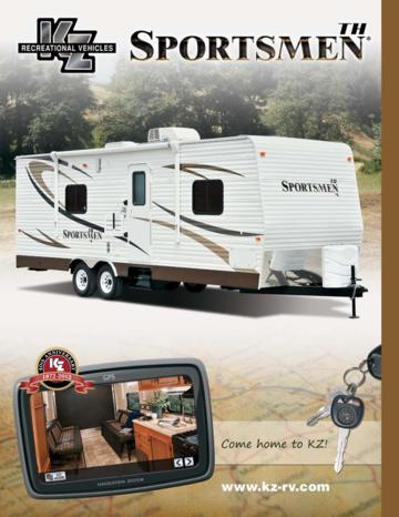 2012 KZ RV Sportsmenth Brochure