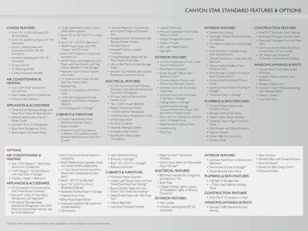 2012 Newmar Bay Star Brochure | Download RV brochures on