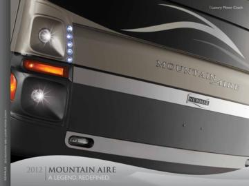 2012 Newmar Mountain Aire Brochure