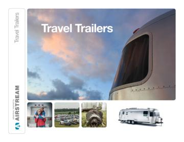 2013 Airstream Travel Trailers Brochure