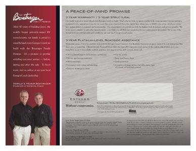 2013 Entegra Coach Aspire Brochure page 4