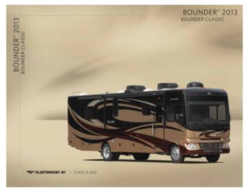2013 Fleetwood Bounder Brochure