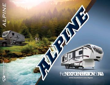 2013 Keystone RV Alpine Brochure