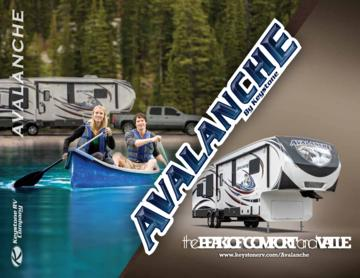 2013 Keystone RV Avalanche Brochure