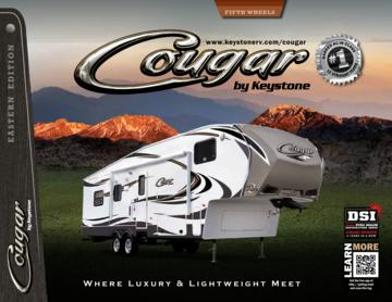 2013 Keystone RV Cougar Eastern Edition Brochure