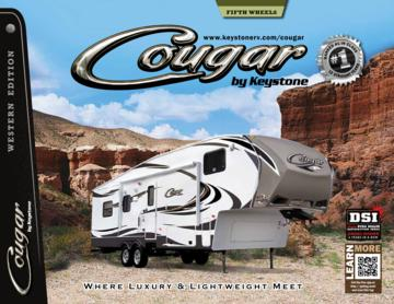 2013 Keystone RV Cougar Western Edition Brochure