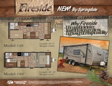 2013 Keystone RV Fireside Brochure