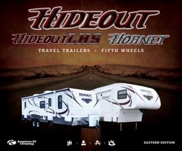 2013 Keystone Rv Hideout Eastern Edition Brochure