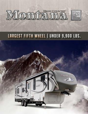 2013 Keystone Rv Montana High Country Brochure