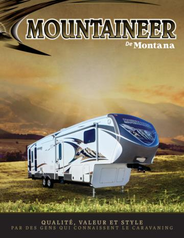 2013 Keystone Rv Mountaineer French Brochure