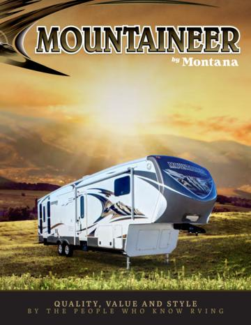 2013 Keystone Rv Mountaineer Brochure